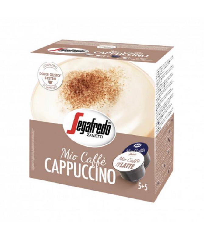 Segafredo Cappuccino Compatível Dulce Gusto 10un