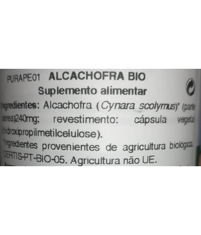 Purasana Alcachofra BIO DIGESTÃO 120un