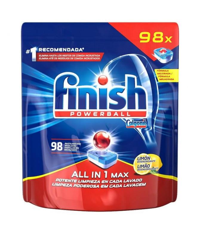 Finish Todo en 1 Limón 98un T