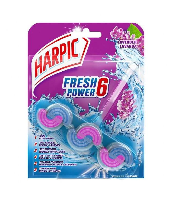 Harpic WC Fresh Power Lavanda 1un T