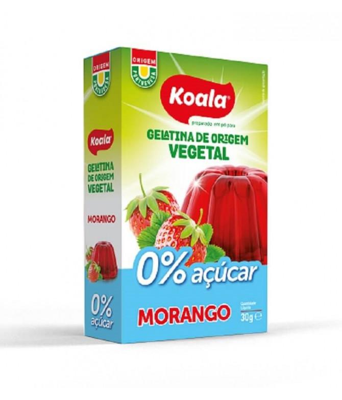 Koala Gelatina Vegetal Morango 0% 30gr