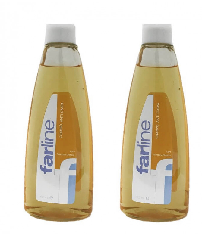 PACK 2 Farline Champô Anti-Caspa 400ml