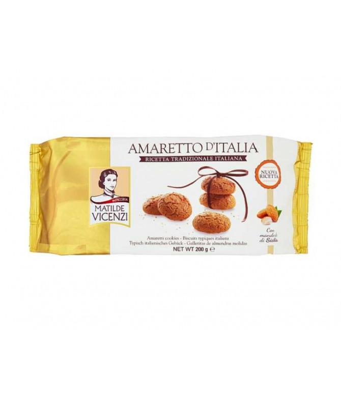 Vicenzi Biscoito Amaretto D'Itália 200gr