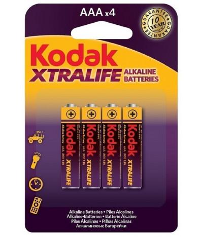 Kodak Pilhas XTRALIFE AAA 4un