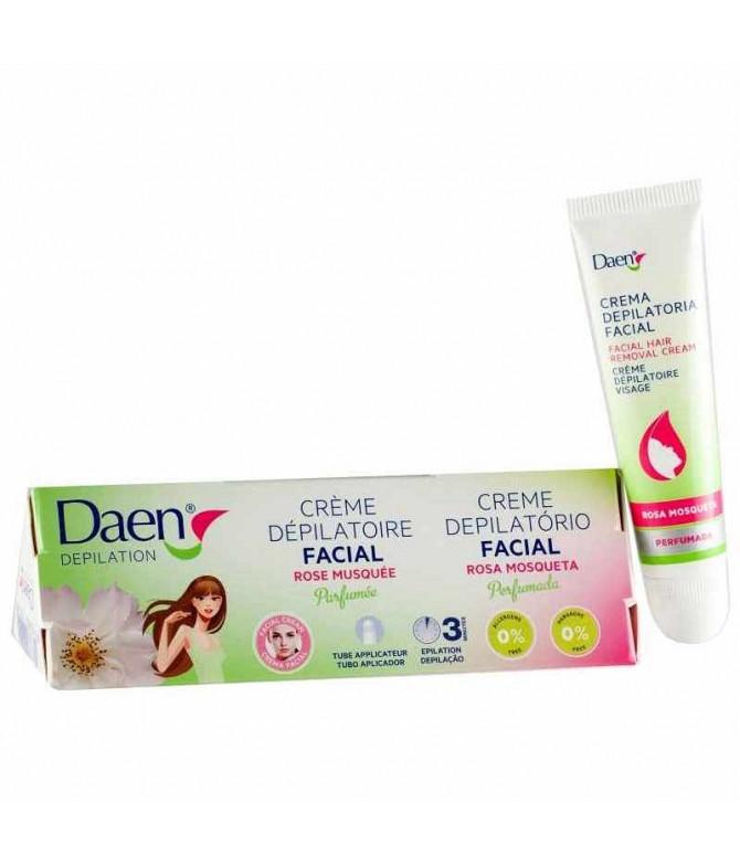 Daen Crema Depilatoria Facial Rosa Mosq 15ml T