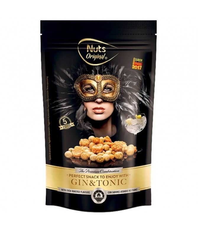 Nuts Original Gin & Tonic 150gr T