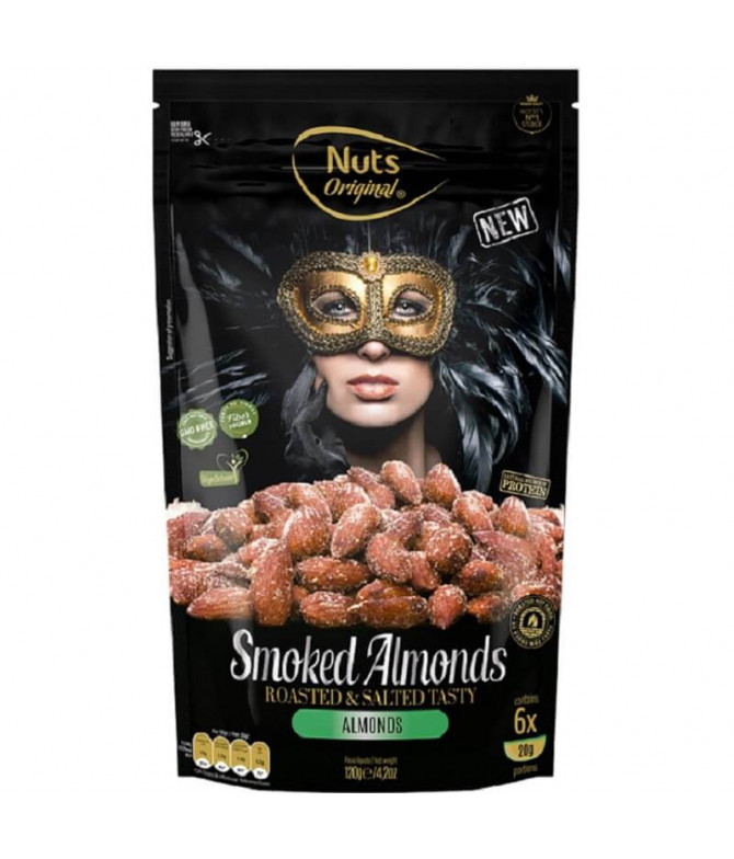 Nuts Original Smoked Almonds 120gr