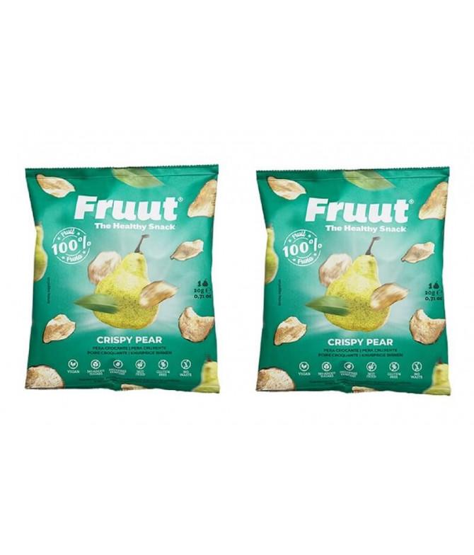 PACK 2 Fruut Snack 100% Pera 20gr T