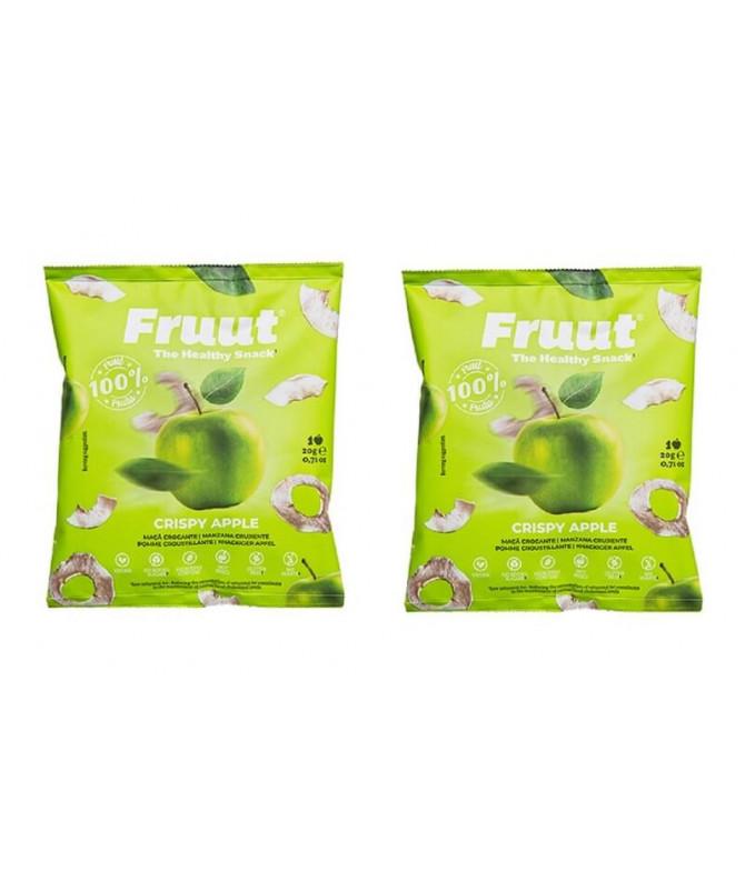 PACK 2 Fruut Snack 100% Manzana Verde 20gr T