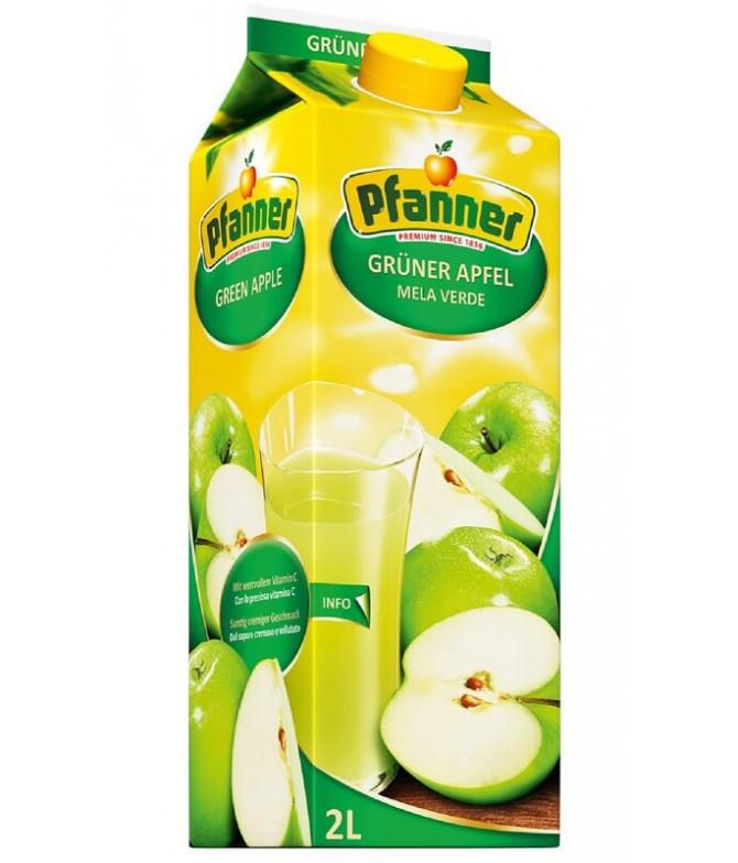 Pfanner Zumo de Manzana Verde 40% 2L T
