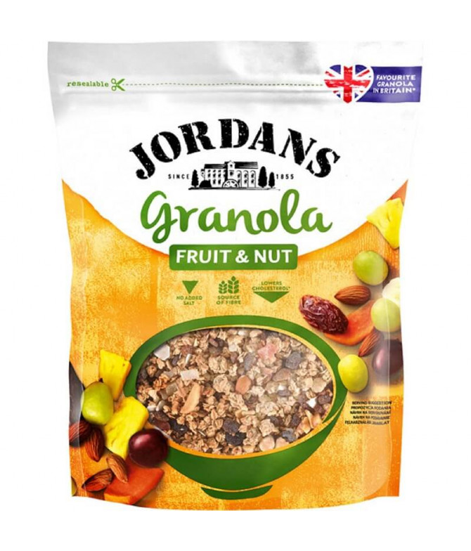 Jordans Granola Fruta & Frutos Secos 370gr