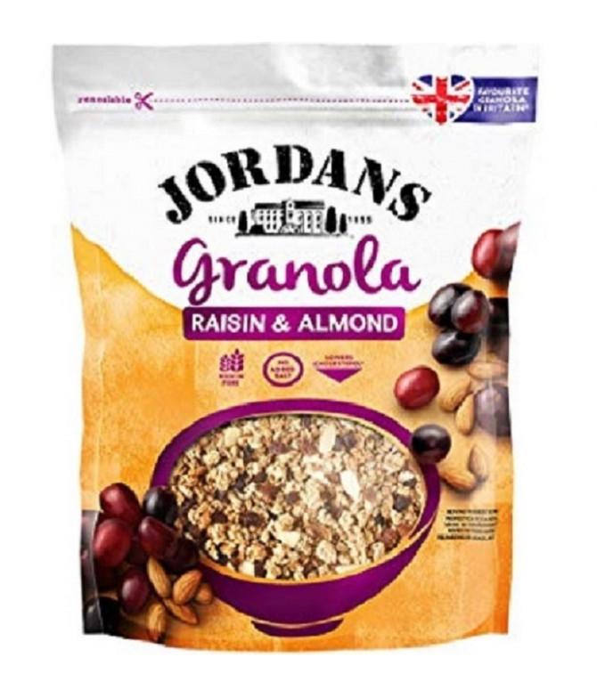 Jordans Granola Passas & Amêndoas 370gr