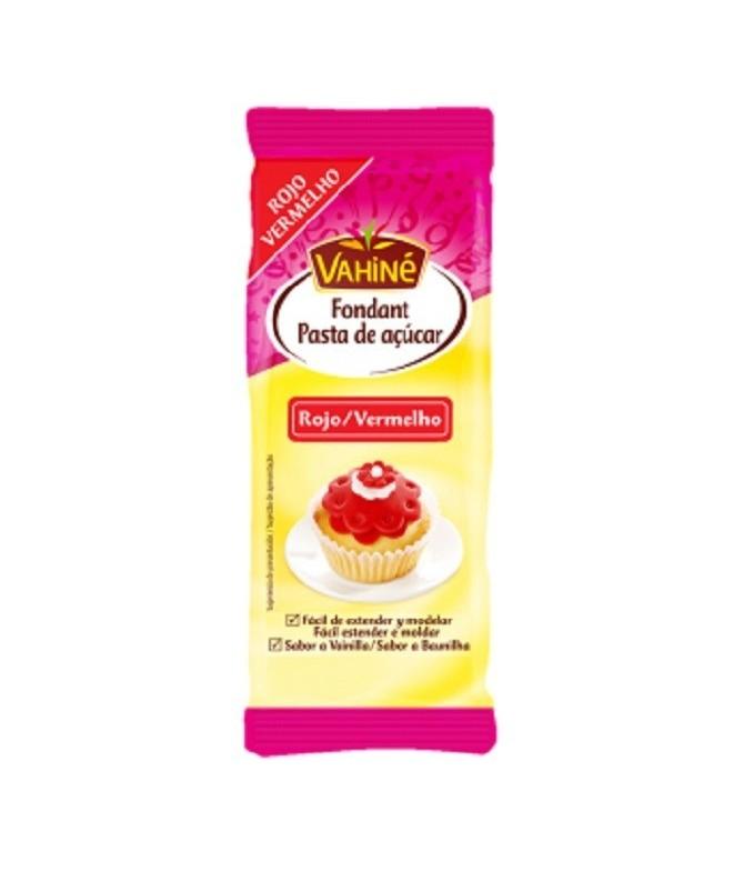 Pasta de Azúcar Roja Vahiné