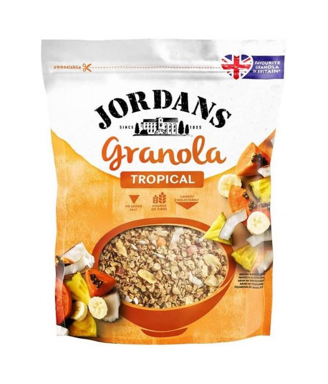 Jordans Granola Tropical 370gr T