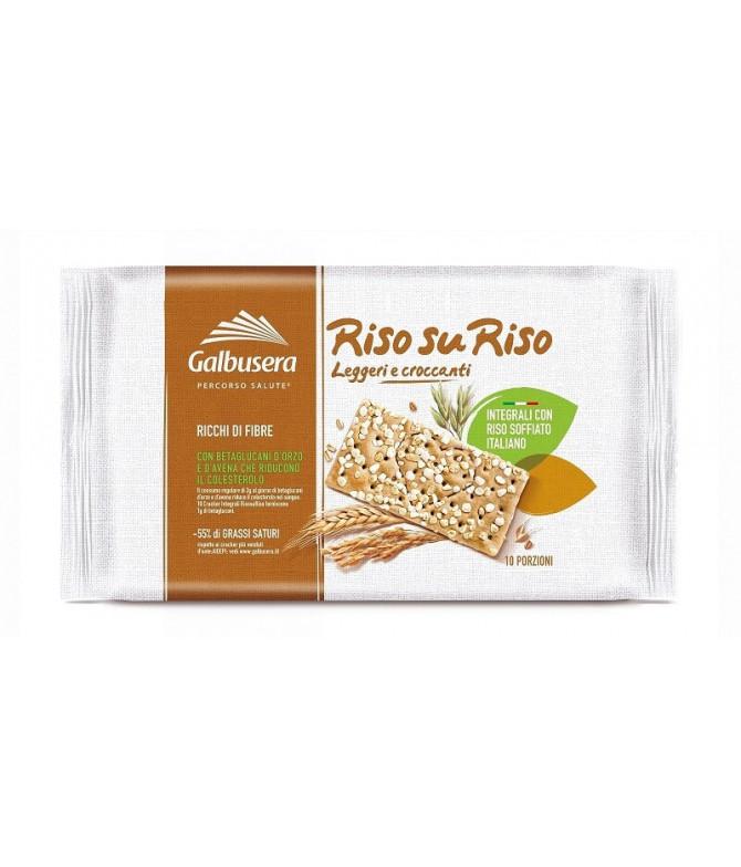 Galbusera RisosuRiso Cracker Integral 380gr T