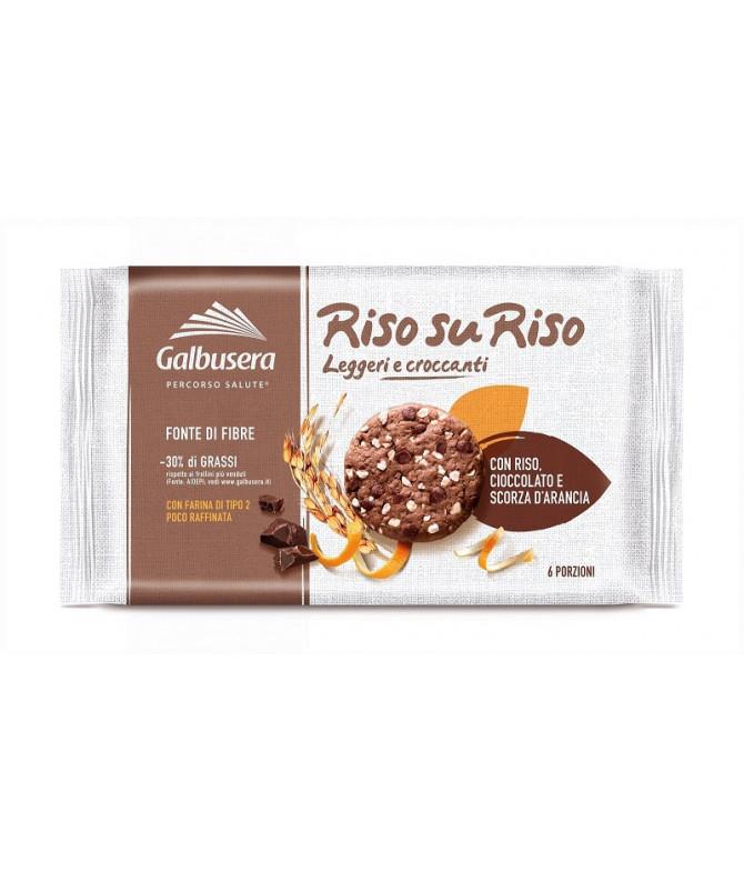 Galbusera RisosuRiso Chocolate & Laranja 220gr