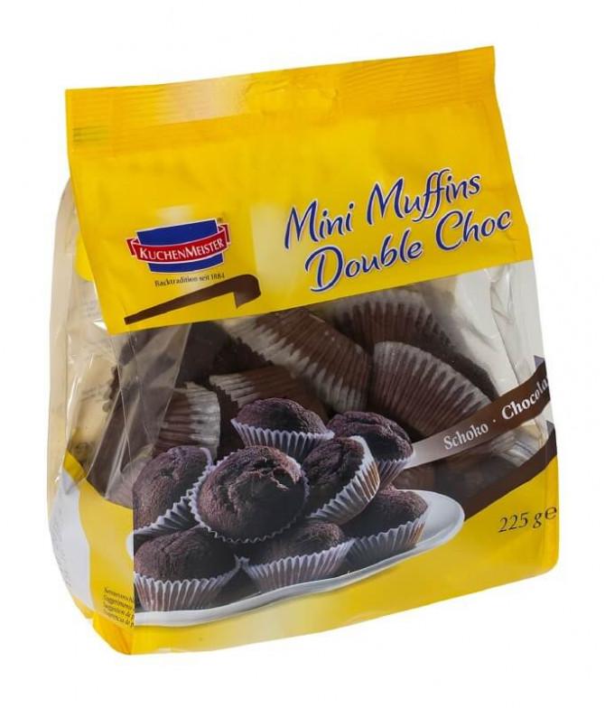 Kuchen Meister Mini Muffins Double Choc 225gr T