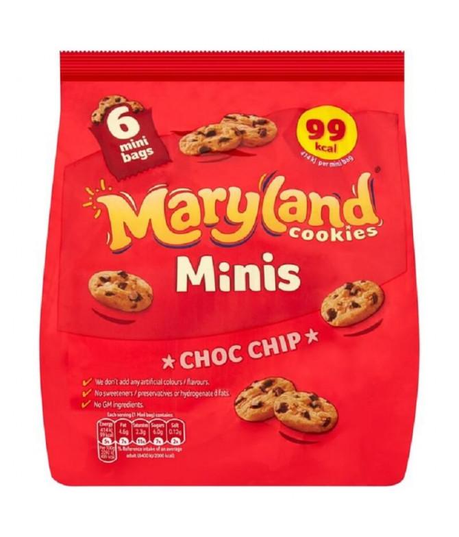 Maryland Mini Cookies Choc Chip 6un T