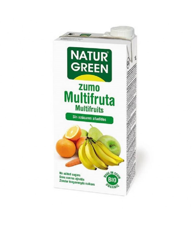 NaturGreen Sumo Multi-fruta BIO 1L