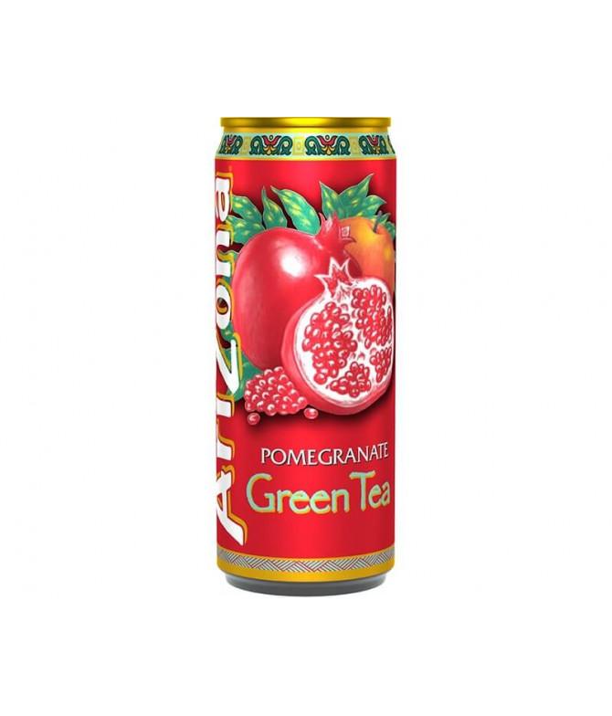 Arizona Ice Tea Chá Verde & Romã 33cl