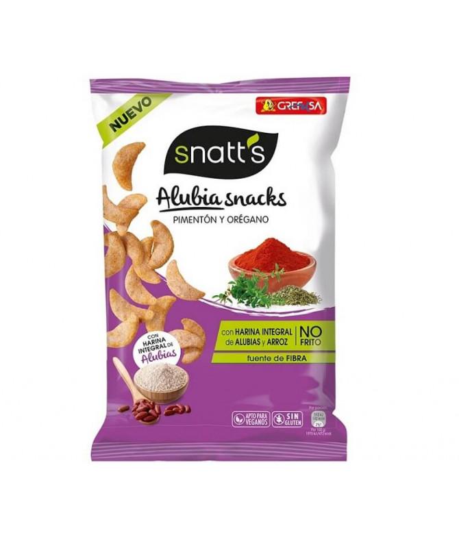 Snatts Alubia Snacks Pimentón & Oregano 95gr T