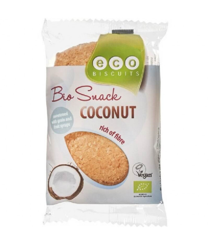 Eco Biscuits Galleta Coco 55gr T