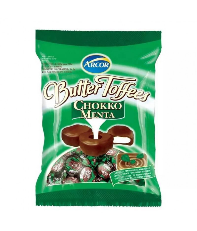 Butter Toffees Chocolate & Menta 90gr