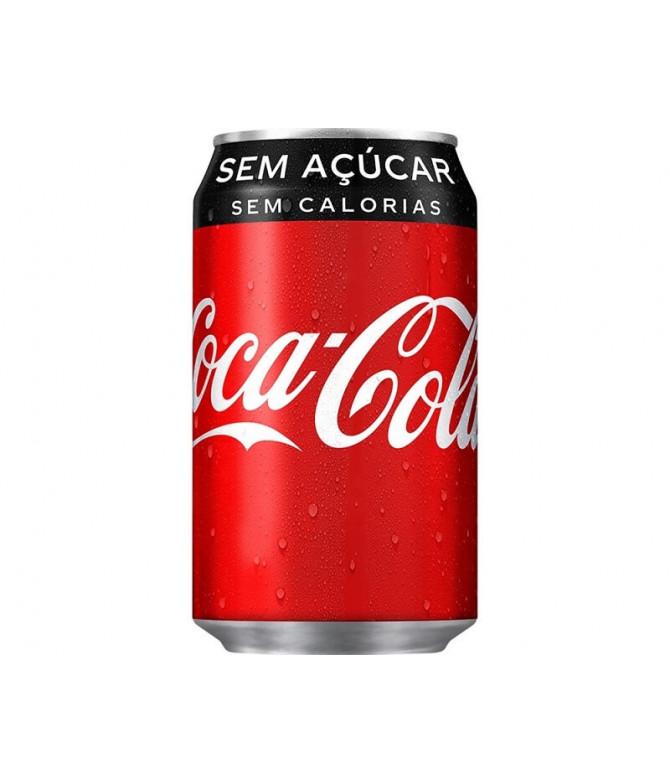 Coca Cola Sem Açúcar 33cl
