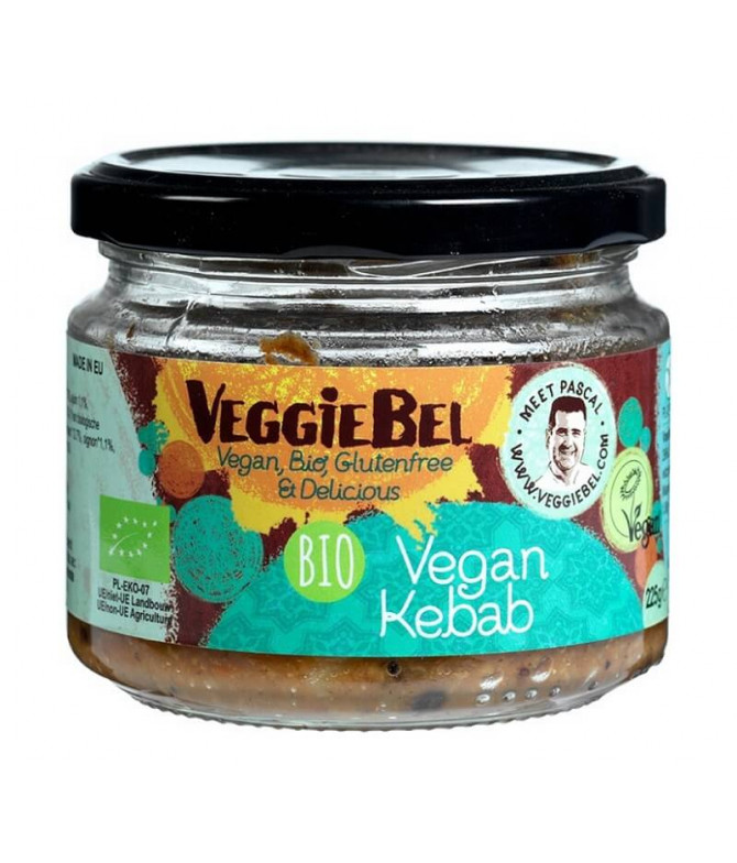 VeggieBel Salsa Vegan Kebab BIO 225gr T