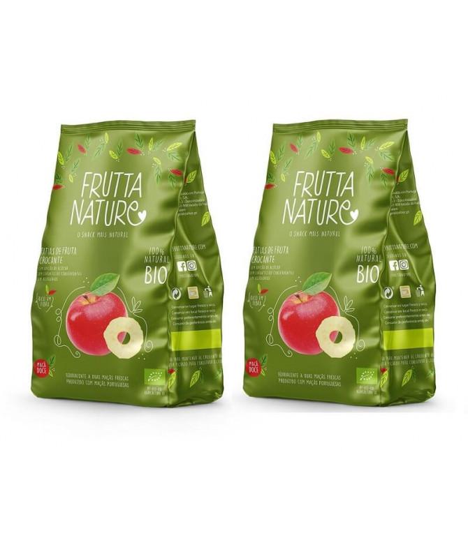 PACK 2 Frutta Nature Manzana Roja BIO 40gr T