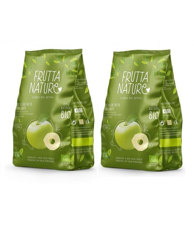 PACK 2 Frutta Nature Manzana Verde BIO 40gr T