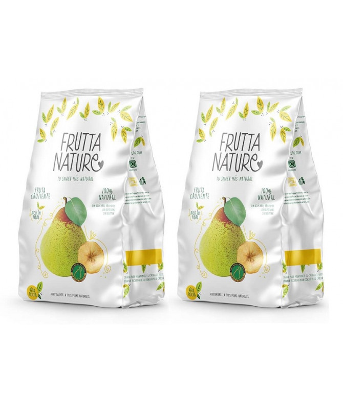 PACK 2 Frutta Nature Pera 60gr T