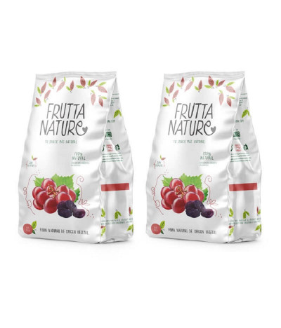PACK 2 Frutta Nature Uva Rosa 45gr