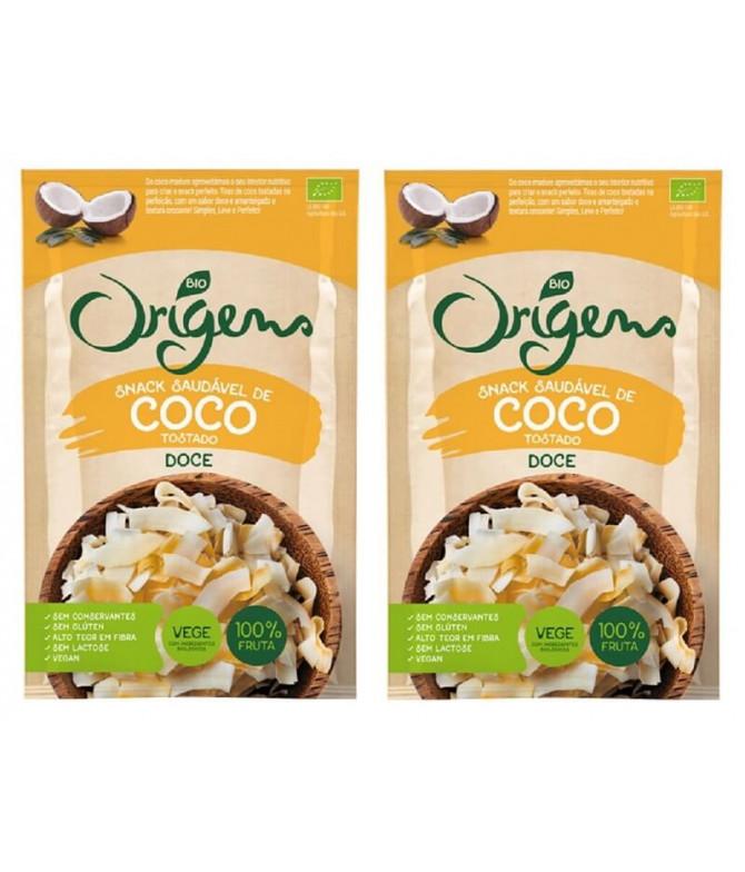 PACK 2 Origens Bio Snack Coco Doce 20gr