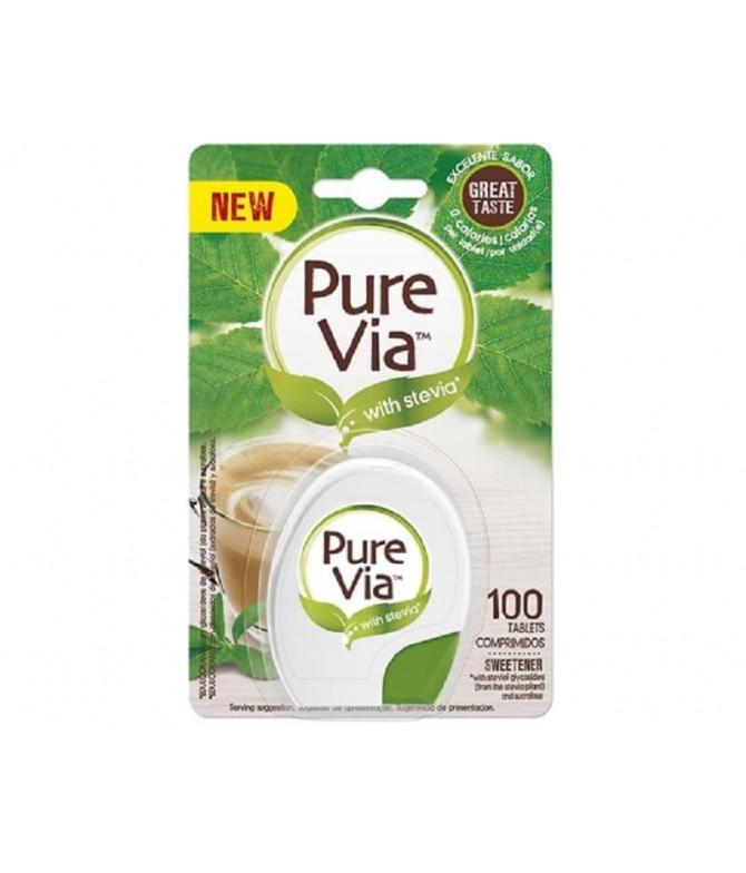 Pure Via Edulcorante Stevia 100un T