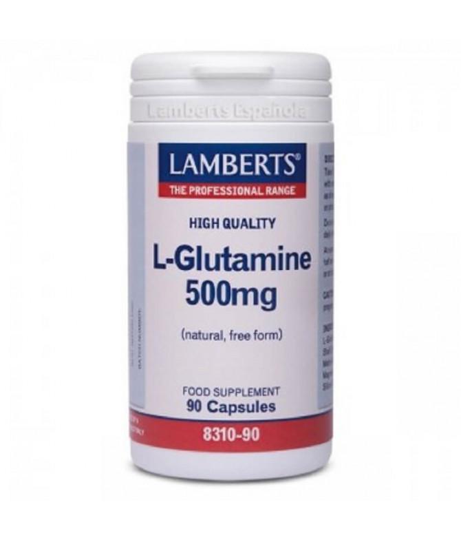 Lamerts L-Glutamine 500mg 90un
