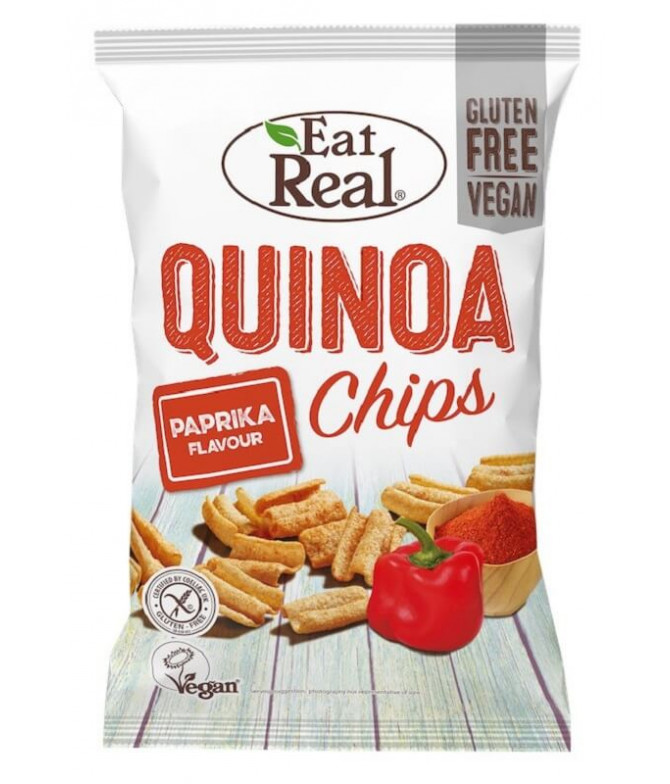 Eat Real Chips Quinoa & Paprika 80gr T