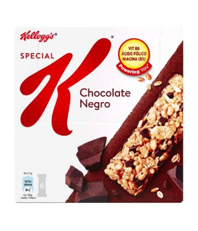 Kelloggs Special K Barrita Cereais & Choc 6un
