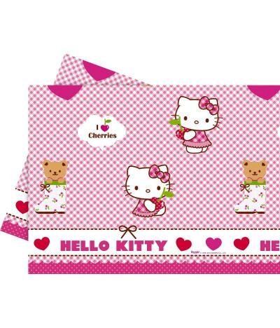 Toalha de Mesa Hello Kittty Hearts 120 x 180 cm