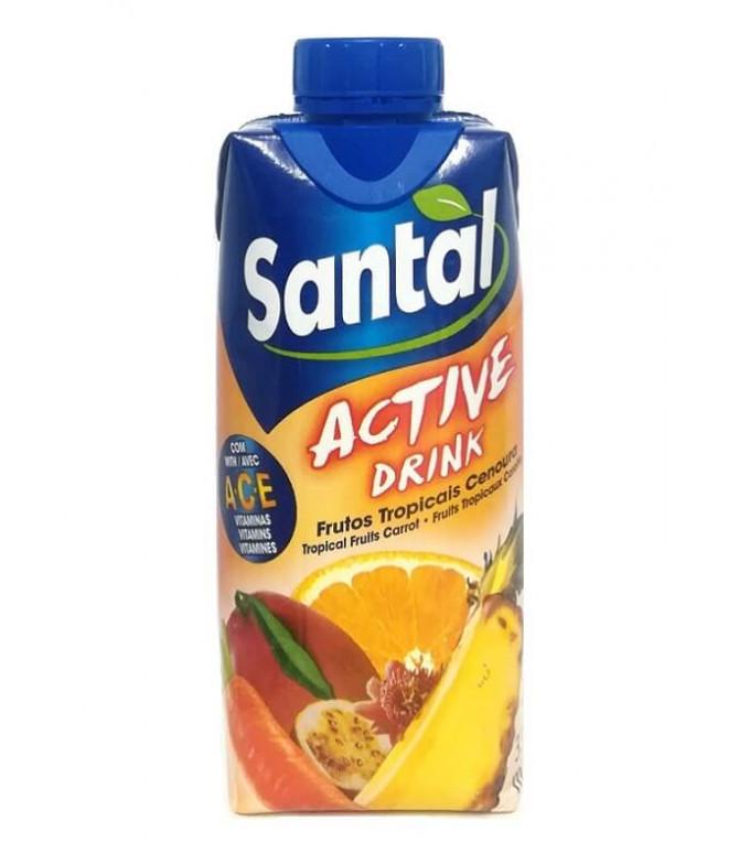 Santal Active Drink Frutos Tropicales Zanahoria 33cl T