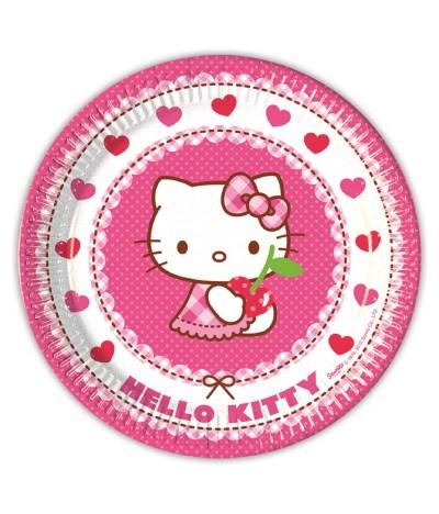 Platos Hello Kitty Hearts 23 cm