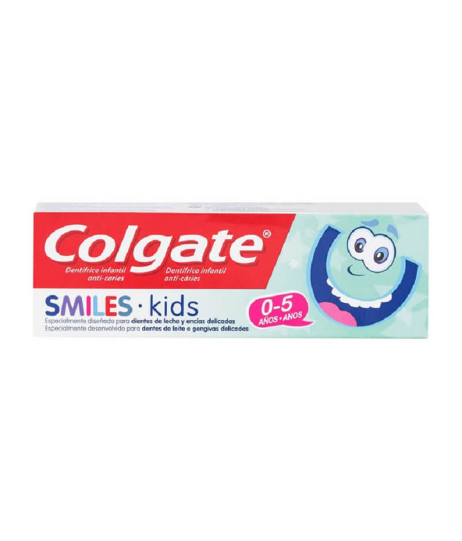 Colgate Pasta Dentífrica Smiles 0-5 Anos 50ml