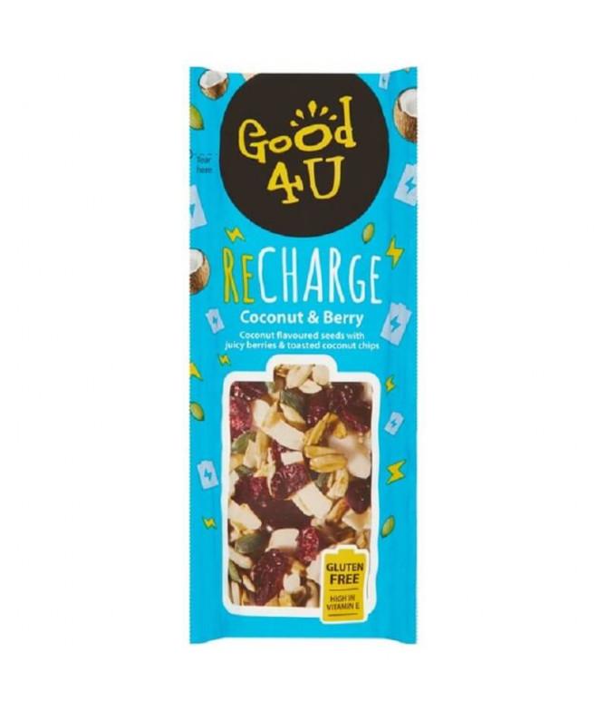 Good 4U Recharge Snack Coco & Bayas 30gr
