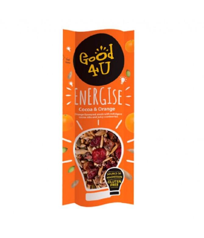 Good 4U Energise Snack Cacao & Naranja 30gr T