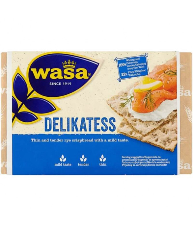 Wasa Biscotes Delikates 270gr T