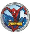 Pratos do Homem Aranha 20 cm - 8 un