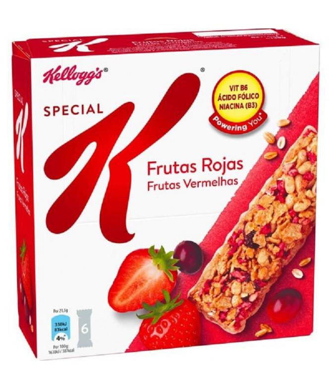 Kelloggs Special K Barrita Cereais & Frutos Vermelhos 6un