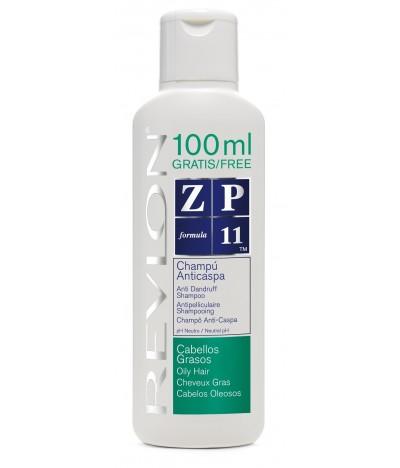 Champô AntiCaspa ZP11 Cabelos Oleosos Revlon 300ml+100ml