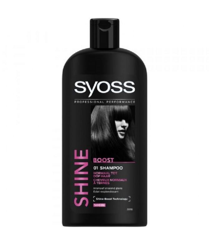 Syoss Champô Shine Boost Brilho 500ml