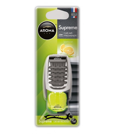 Aroma Car Ambientador Auto Supreme Lemon 1un 1un